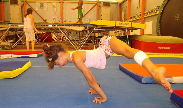 gym acrobatique enfant